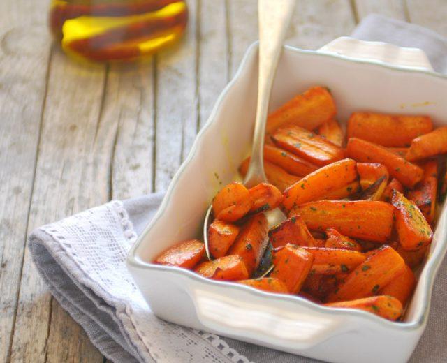 carote speziate zenzero e curcuma