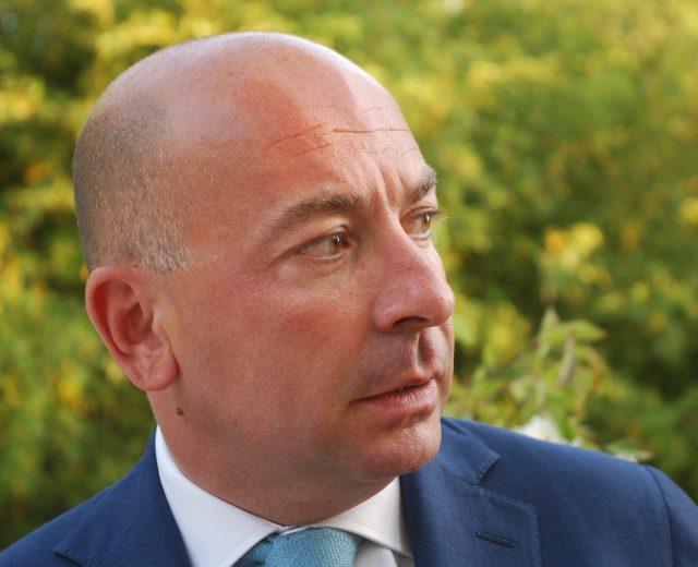 Il proprietario di Villa La Bianca, Resort con ristorante di lusso, Massimo Grossi
