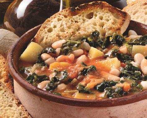 zuppa di cavolo nero
