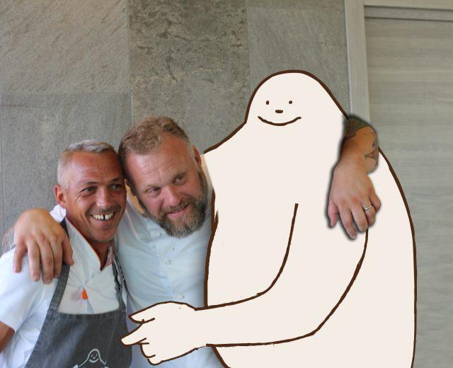 Filippo Minutelli e Gabriele Bonci: due maestri del gusto