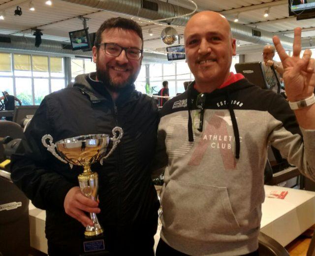 Luca Rugani e il suo coach Michele Freschi ad Ego Wellness Resort