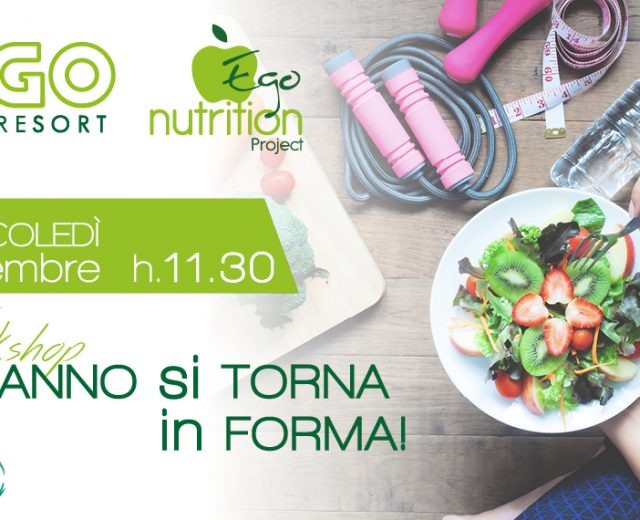Ego Nutrition Project 12 settembre 2018