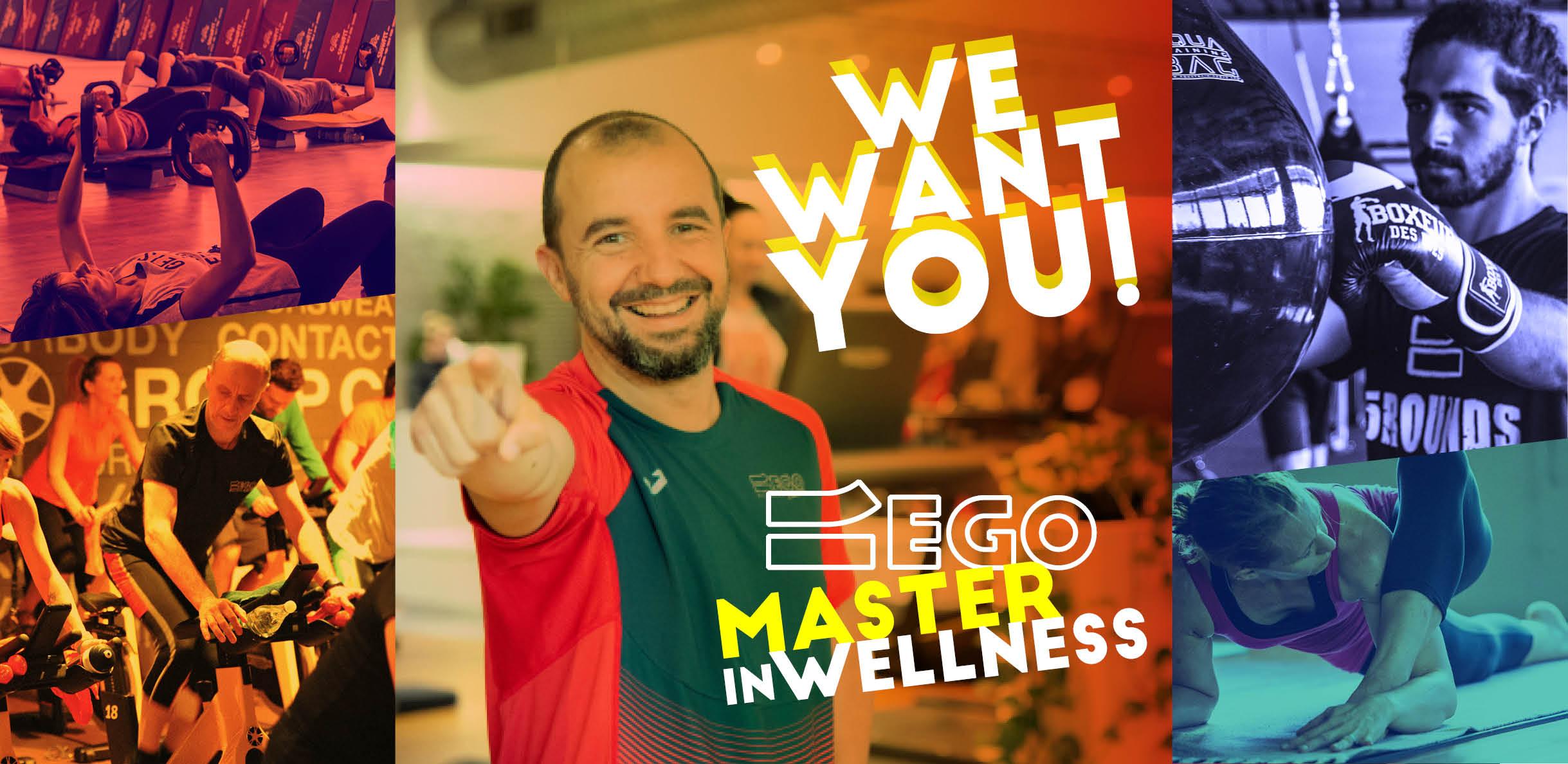 We want you - Una percorso di selezione formazione per fitness coach