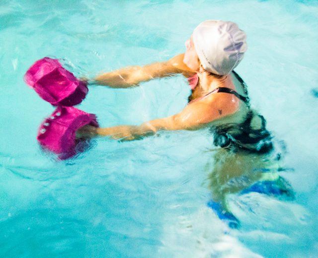 Anche in acqua si allena la forza