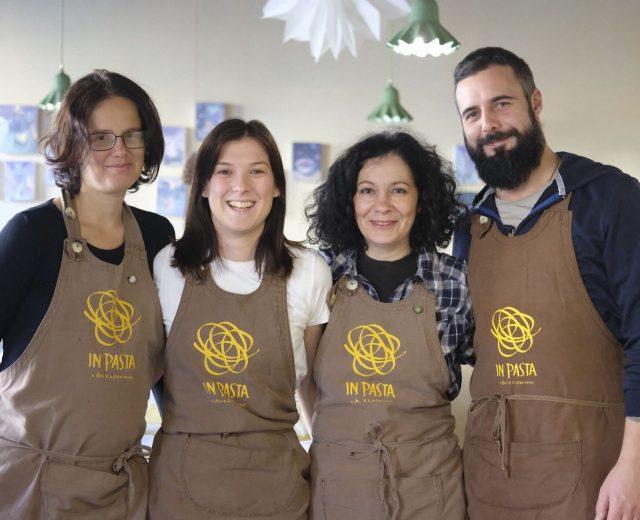 In Pasta - Cibo e Convivio, il gruppo di lavoro