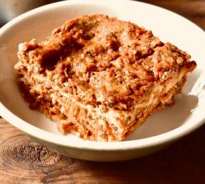 Lasagne Vegan con lenticchie