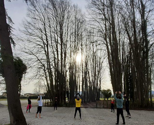 attività fisica all'aperto