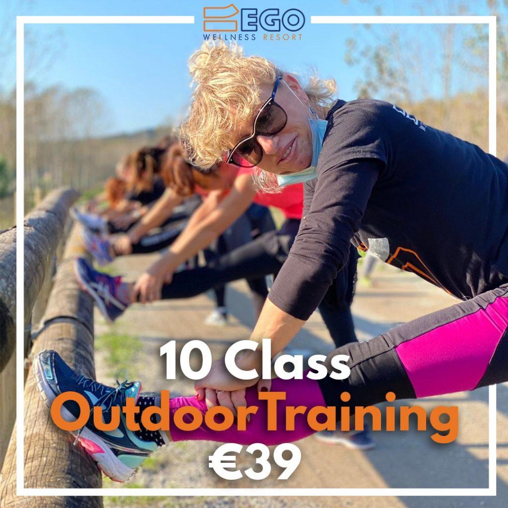 10 class outdoor training